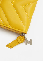 MANGO Quilted Coin Purse