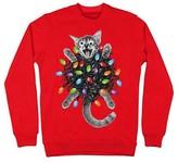 Men's Tangled Kitty Sweatshirt Red