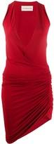 Alexandre Vauthier asymmetric v-neck dress