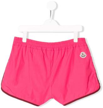Moncler TEEN track shorts