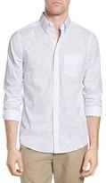 Gant Men's Broadcloth Dot Fitted Sport Shirt