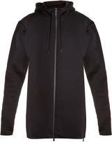 Y-3 Spacer zip-through hooded jacket