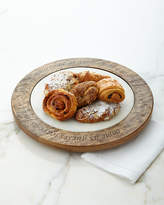 GG Collection G G Collection Marble & Wood Lazy Susan