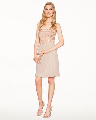 Le Château Sequin Knit Fit & Flare Dress