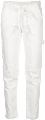 Greg Lauren High Waisted Loose Fit Trousers