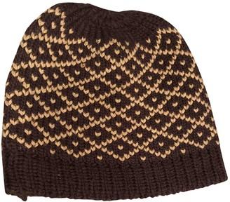 Gucci Brown Wool Hats