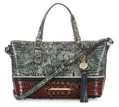 Brahmin Glacier Eastwood Leather Crossbody Bag