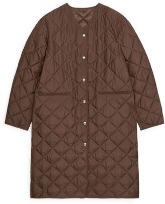 Arket Quilted Coat