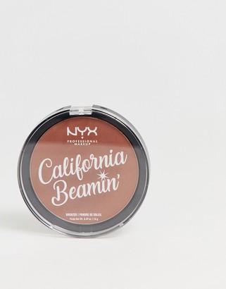 NYX California Beamin' Face And Body Bronzer - Beach Bum