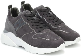 Hogan Active One suede sneakers