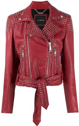 John Richmond Studded Leather Jacket