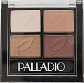 Palladio Herbal Eyeshadow Quads Copper N Chic