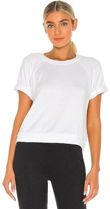 Beyond Yoga Solid Choice Short Sleeve Pullover Top