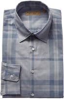 Burberry Check Cotton Oxford Shirt