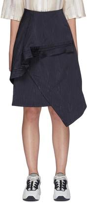 Ffixxed Studios Asymmetric ruffled skirt