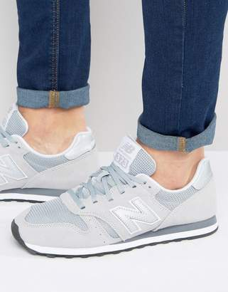 New Balance Modern Classic 373 Trainers In Grey ML373GR
