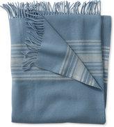 L.L. Bean Washable Wool Throw, Striped