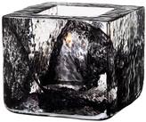 Kosta Boda Brick Votive - Black