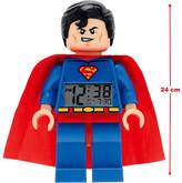 Lego DC Comics Super Heroes Superman Minifigure Alarm Clock