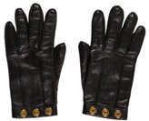 Hermes Leather Studded Gloves