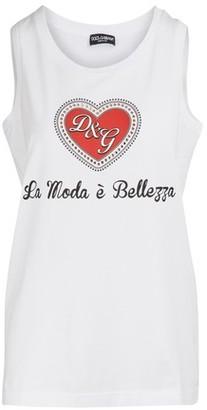 Dolce & Gabbana La Moda e Belleza tank top