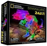 Laser Pegs National Geographic 24 in 1 Dinosaurs Lighted Construction Toy