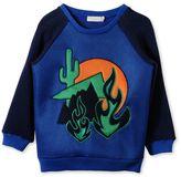Stella McCartney blue whip cactus sweatshirt