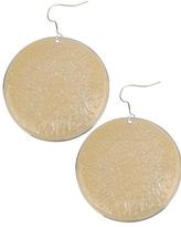 H81 Paisley Disc Earring