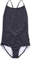 Ralph Lauren Polka-Dot One-Piece Swimsuit