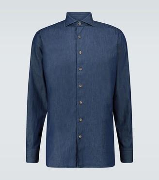 Lardini Denim chambray shirt