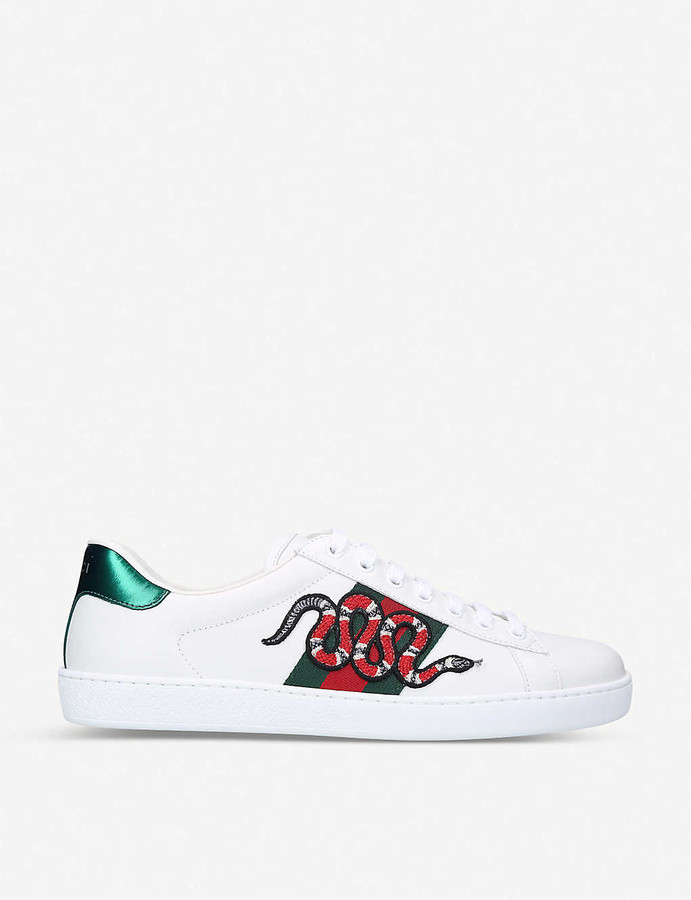 Gucci Snake Sneakers Men | Shop the