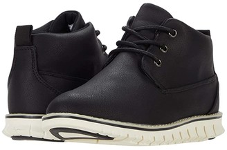 Steve Madden Major (Toddler/Little Kid/Big Kid) (Black) Boys Shoes