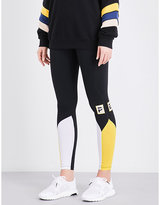 P.E Nation Play Ball stretch-jersey leggings