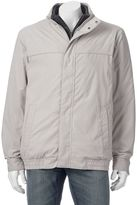 Croft & Barrow Big & Tall Bibbed Microfiber Jacket