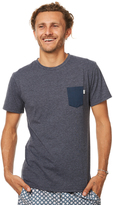 rhythm Basic Mens T Shirt Grey
