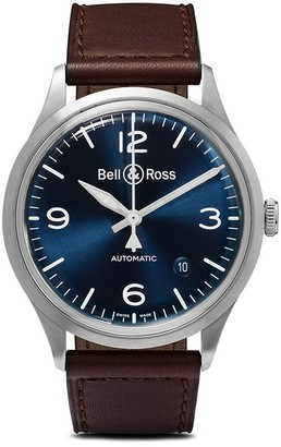 Bell & Ross BR V1-92 Blue Steel 38.5mm