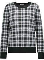 Equipment Shane Plaid Wool Sweater