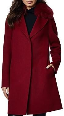 Dawn Levy Cecilia Fur Trim Coat