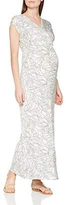 Mama Licious Mamalicious Women's Mlmaggi Cap Jersey Maxi Dress Dress,(Manufacturer Size: Large)