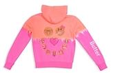 Butter Shoes Girls' Dip-Dye Emoji Hoodie - Little Kid