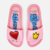 Melissa Women's Charming Beach Slide Sandals Pink