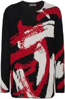 Yohji Yamamoto Namu Paint Pattern Jumper