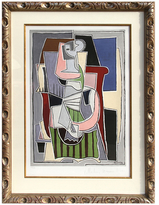 Femme Au Tablier Raye Vert, Estate by Pablo Picasso (Lithograph)