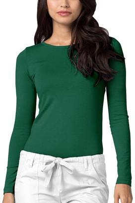 Adar Uniforms Adar Underscrubs for Women - Long Sleeve Underscrub Comfort Tee - 2900 - Royal Blue - S