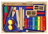 Melissa & Doug ; Deluxe Band Set With Wooden Musical Instruments and Storage Case