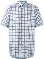 Marni grid print shirt - men - Cotton - 46
