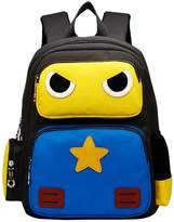 Greeniris Cute Robot Backpacks Kids Boys/Girls School Bag