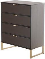 Swift Diego Ready Assembled4 Drawer Chest