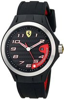 Ferrari Men's 0830012 Lap Time Analog Display Quartz Black Watch