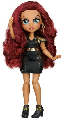 FailFix @Loves.Glam Total Makeover Doll Pack, 8.5 inch Fashion Doll with Long Curly Brunette Restylable Hair and Transforming Face, Surprise Fashion Reveal and Accessories